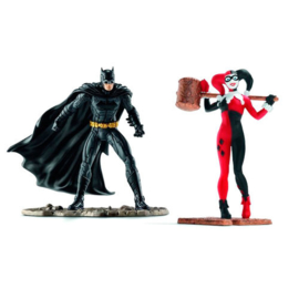 Justice League Batman vs Harley Quinn DC Comics figures
