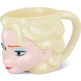 Frozen Elsa Head 3D Disney mug