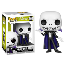 FUNKO POP figure Disney Nightmare Before Christmas Vampire Jack (598)