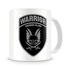Warrior Mug with Shield Logo  on Front and Back