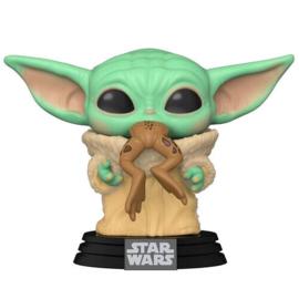FUNKO POP figure Star Wars Mandalorian The Child with Frog (379)