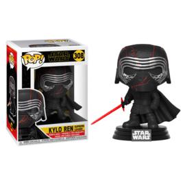 FUNKO POP figure Star Wars Rise of Skywalker Kylo Ren Supreme Leader (308)
