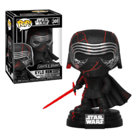 FUNKO POP figure Star Wars Rise of Skywalker Kylo Ren Electronic (308)