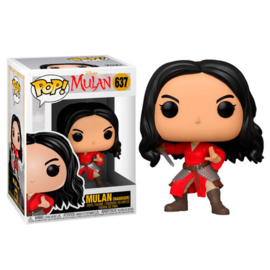 FUNKO POP figure Disney Mulan Live Warrior Mulan (637)