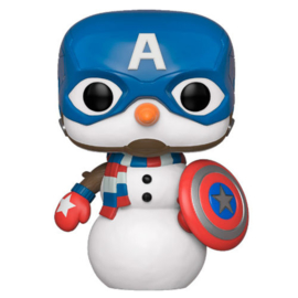 FUNKO POP figure Marvel Holiday Captain America (532)