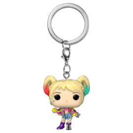 FUNKO Pocket POP Keychain DC Birds of Prey Harley Quinn Caution Tape