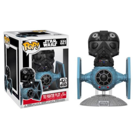 FUNKO POP figure Star Wars Tie Fighter with Tie Pilot 15cm - Exclusive (221)