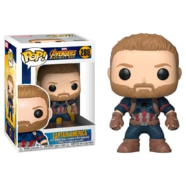 FUNKO POP figure Marvel Avengers Infinity War Captain America (288)