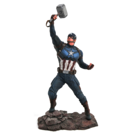 Marvel Avengers Endgame Captain America diorama statue 23cm