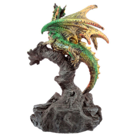 Dark Legends Forest Protector Dragon figure