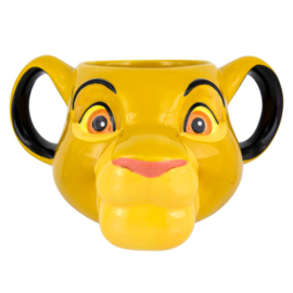 The Lion King 3D Simba Disney mug