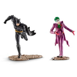 Justice League Batman vs The Joker DC Comics figures