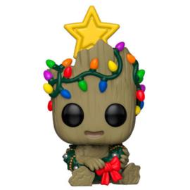 FUNKO POP figure Marvel Holiday Groot (530)