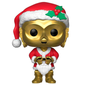 FUNKO POP figure Star Wars Holiday C-3PO as Santa (276)