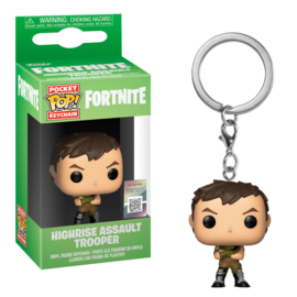 FUNKO Pocket POP keychain Fortnite Highrise Assault Trooper