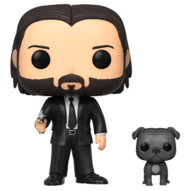 FUNKO POP figure John Wick John in Black Suit with Dog (580)