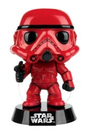 FUNKO POP figure Star Wars Red Stormtrooper - Exclusive (05)