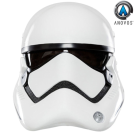 Star Wars First Order Stormtrooper helmet exact replica scale 1:1 Collector Item !