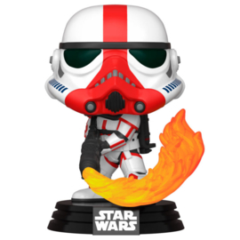 FUNKO POP figure Star Wars Mandalorian Incinerator Stormtrooper (350)