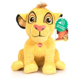 The Lion King Simba Disney soft plush toy with sound 30cm