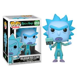 FUNKO POP figure Rick & Morty Hologram Rick Clone (659)