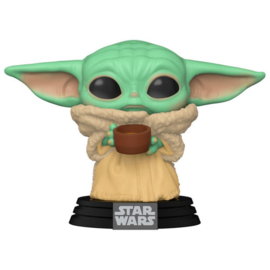 FUNKO POP figure Star Wars Mandalorian The Child with Cup (378)