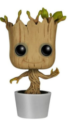 FUNKO POP figure Marvel Guardians of the Galaxy Dancing Groot (65)