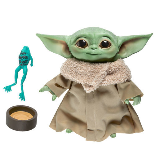 HASBRO Star Wars Yoda The Child plush toy with sounds - 19cm