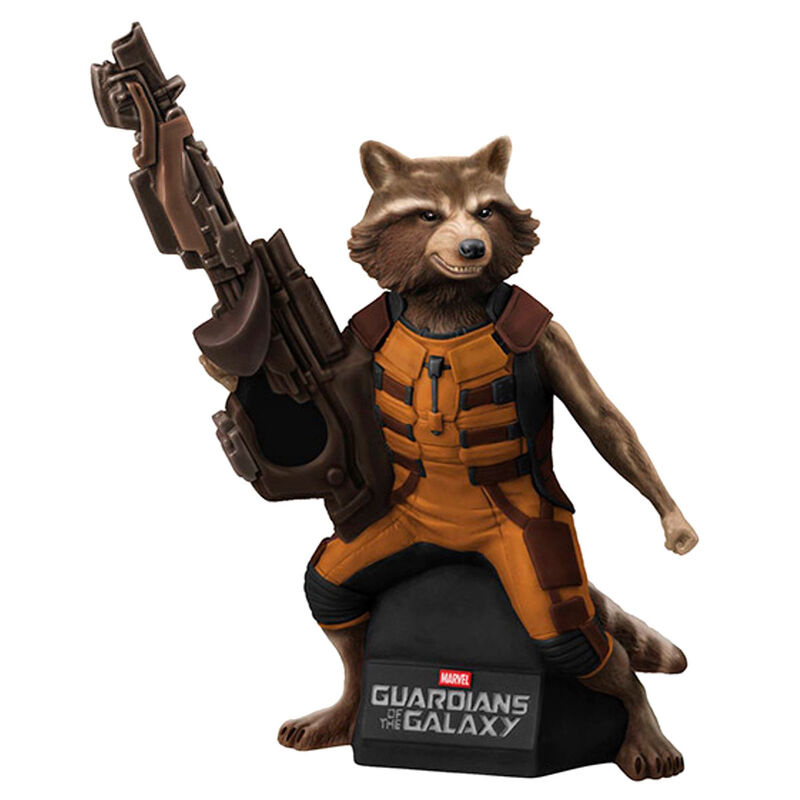 Marvel Guardians of the Galaxy Rocket Raccoon Bust Bank Action Figure - 23cm