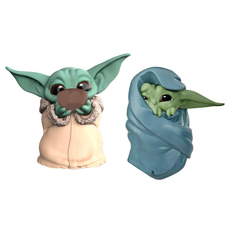 HASBRO Star Wars Yoda The Child pack 2 figures - 5.58cm