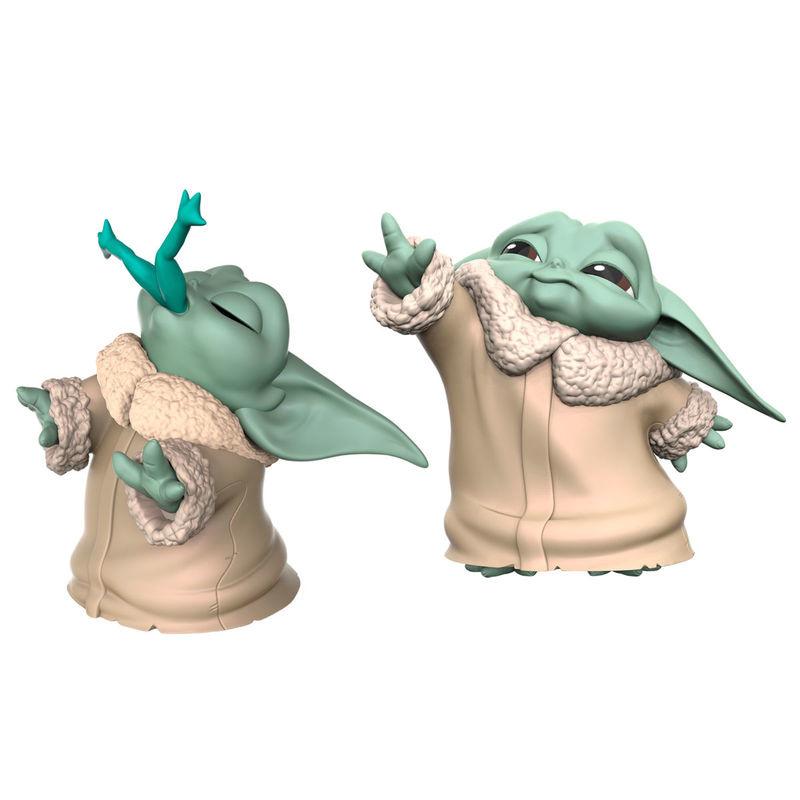 HASBRO Star Wars Yoda The Child pack 2 figures - 5,58cm