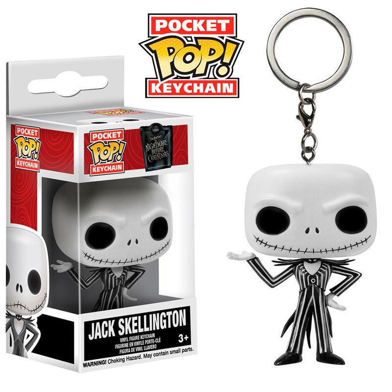 FUNKO Pocket Pop Keychain Nightmare before Christmas Jack Skellington