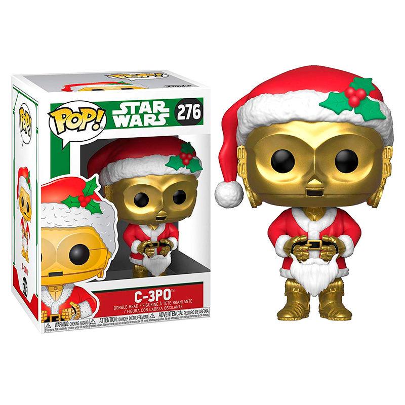 FUNKO POP figure Star Wars Holiday C-3PO as Santa (276)