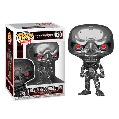 FUNKO POP figure Terminator Dark Fate Rev-9 Endoskeleton (820)
