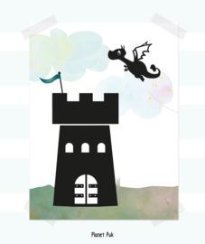 Poster Draakje