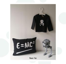 Kussentje E=MC² - 30 x 40 cm