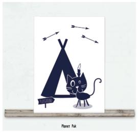 Posterkaart 20 x 30 cm - Winnetoe
