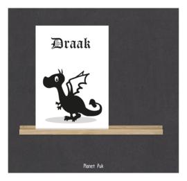 A4 Posterkaart Draak
