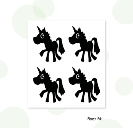 Stickersets - Eenhoorn/ Unicorn