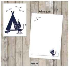Posterkaart Winnetoe
