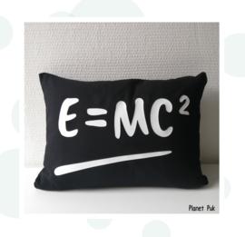 Kussentje E=MC² - 40x30
