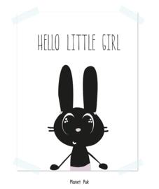 Poster, Hello little girl