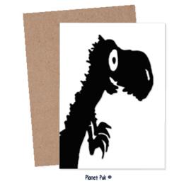 Posterkaart 20 x 30 cm - Tito de T-Rex