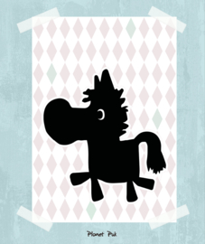 Poster, Paardje Ross