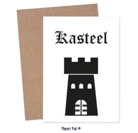 Posterkaart Kasteel