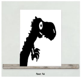 Posterkaart - Tito de T-Rex