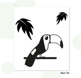 Sticker - Tony Toekan