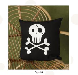 Kussentje Piraat - SKULL 40 x 40 cm