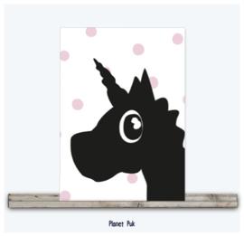 A4 Posterkaart - Eenhoorn