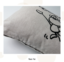 Jungle kussentje Aap - Goodnight 30 x 40 cm